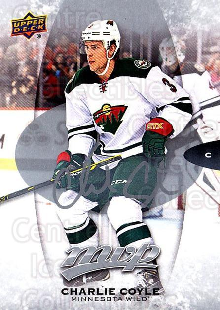 2016-17 Upper Deck MVP Silver Script #50 Charlie Coyle<br/>2 In Stock - $2.00 each - <a href=https://centericecollectibles.foxycart.com/cart?name=2016-17%20Upper%20Deck%20MVP%20Silver%20Script%20%2350%20Charlie%20Coyle...&quantity_max=2&price=$2.00&code=717295 class=foxycart> Buy it now! </a>