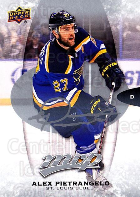 2016-17 Upper Deck MVP Silver Script #58 Alex Pietrangelo<br/>1 In Stock - $2.00 each - <a href=https://centericecollectibles.foxycart.com/cart?name=2016-17%20Upper%20Deck%20MVP%20Silver%20Script%20%2358%20Alex%20Pietrangel...&quantity_max=1&price=$2.00&code=717296 class=foxycart> Buy it now! </a>