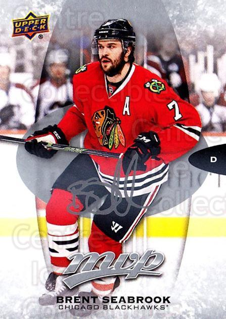 2016-17 Upper Deck MVP Silver Script #64 Brent Seabrook<br/>1 In Stock - $2.00 each - <a href=https://centericecollectibles.foxycart.com/cart?name=2016-17%20Upper%20Deck%20MVP%20Silver%20Script%20%2364%20Brent%20Seabrook...&quantity_max=1&price=$2.00&code=717297 class=foxycart> Buy it now! </a>
