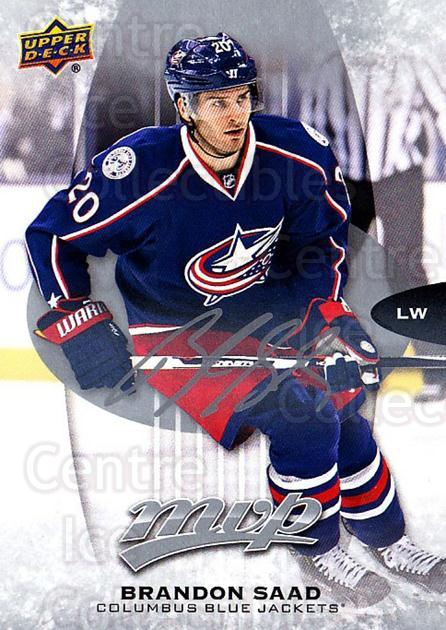 2016-17 Upper Deck MVP Silver Script #78 Brandon Saad<br/>1 In Stock - $2.00 each - <a href=https://centericecollectibles.foxycart.com/cart?name=2016-17%20Upper%20Deck%20MVP%20Silver%20Script%20%2378%20Brandon%20Saad...&quantity_max=1&price=$2.00&code=717302 class=foxycart> Buy it now! </a>