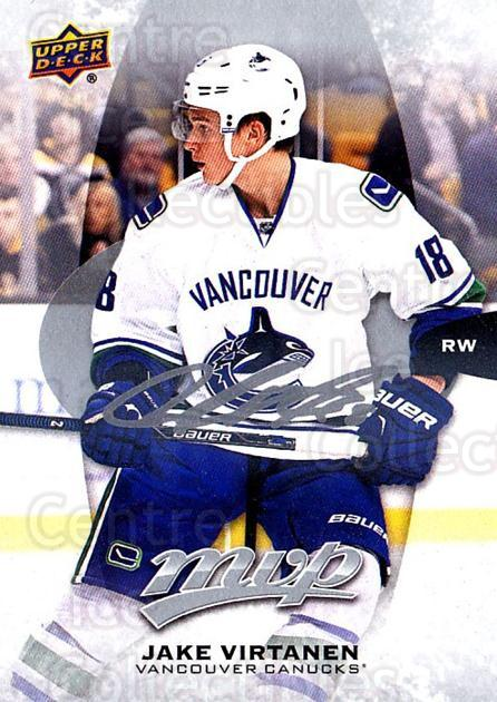 2016-17 Upper Deck MVP Silver Script #124 Jake Virtanen<br/>2 In Stock - $2.00 each - <a href=https://centericecollectibles.foxycart.com/cart?name=2016-17%20Upper%20Deck%20MVP%20Silver%20Script%20%23124%20Jake%20Virtanen...&quantity_max=2&price=$2.00&code=717315 class=foxycart> Buy it now! </a>