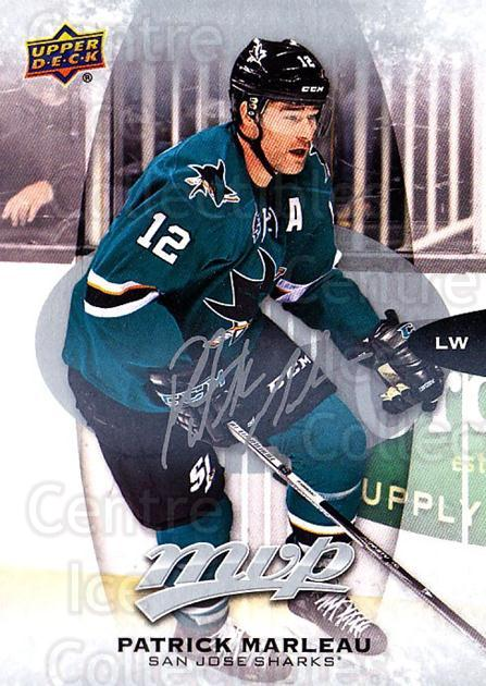2016-17 Upper Deck MVP Silver Script #127 Patrick Marleau<br/>1 In Stock - $2.00 each - <a href=https://centericecollectibles.foxycart.com/cart?name=2016-17%20Upper%20Deck%20MVP%20Silver%20Script%20%23127%20Patrick%20Marleau...&quantity_max=1&price=$2.00&code=717317 class=foxycart> Buy it now! </a>