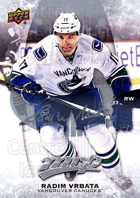 2016-17 Upper Deck MVP Silver Script #154 Radim Vrbata<br/>2 In Stock - $2.00 each - <a href=https://centericecollectibles.foxycart.com/cart?name=2016-17%20Upper%20Deck%20MVP%20Silver%20Script%20%23154%20Radim%20Vrbata...&quantity_max=2&price=$2.00&code=717326 class=foxycart> Buy it now! </a>