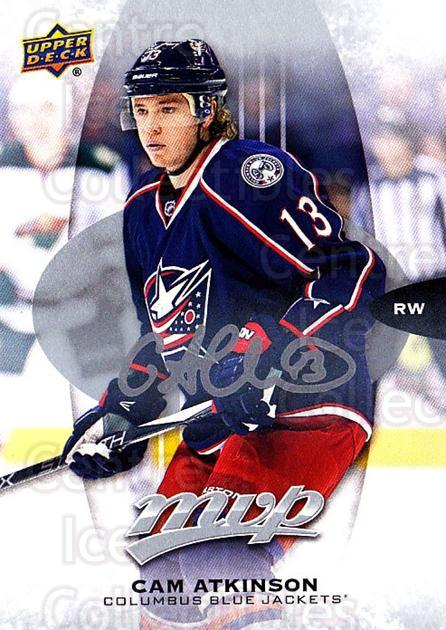 2016-17 Upper Deck MVP Silver Script #156 Cam Atkinson<br/>1 In Stock - $2.00 each - <a href=https://centericecollectibles.foxycart.com/cart?name=2016-17%20Upper%20Deck%20MVP%20Silver%20Script%20%23156%20Cam%20Atkinson...&quantity_max=1&price=$2.00&code=717327 class=foxycart> Buy it now! </a>