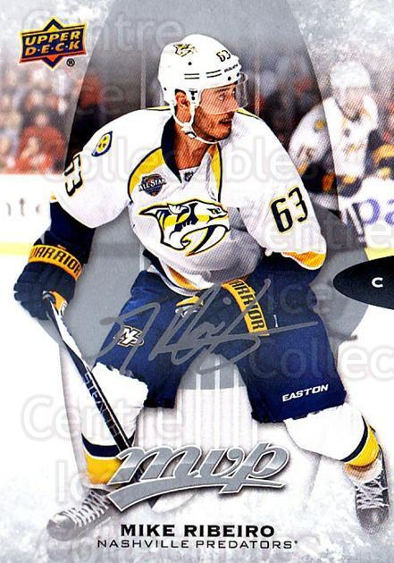 2016-17 Upper Deck MVP Silver Script #176 Mike Ribeiro<br/>2 In Stock - $2.00 each - <a href=https://centericecollectibles.foxycart.com/cart?name=2016-17%20Upper%20Deck%20MVP%20Silver%20Script%20%23176%20Mike%20Ribeiro...&quantity_max=2&price=$2.00&code=717335 class=foxycart> Buy it now! </a>