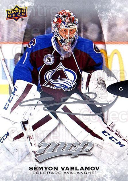2016-17 Upper Deck MVP Silver Script #195 Semyon Varlamov<br/>1 In Stock - $2.00 each - <a href=https://centericecollectibles.foxycart.com/cart?name=2016-17%20Upper%20Deck%20MVP%20Silver%20Script%20%23195%20Semyon%20Varlamov...&quantity_max=1&price=$2.00&code=717342 class=foxycart> Buy it now! </a>
