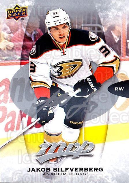 2016-17 Upper Deck MVP Silver Script #51 Jakob Silfverberg<br/>2 In Stock - $2.00 each - <a href=https://centericecollectibles.foxycart.com/cart?name=2016-17%20Upper%20Deck%20MVP%20Silver%20Script%20%2351%20Jakob%20Silfverbe...&quantity_max=2&price=$2.00&code=717352 class=foxycart> Buy it now! </a>