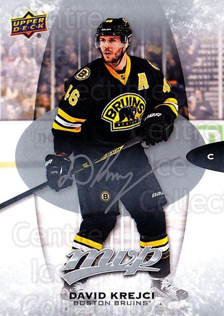2016-17 Upper Deck MVP Silver Script #59 David Krejci<br/>1 In Stock - $2.00 each - <a href=https://centericecollectibles.foxycart.com/cart?name=2016-17%20Upper%20Deck%20MVP%20Silver%20Script%20%2359%20David%20Krejci...&quantity_max=1&price=$2.00&code=717355 class=foxycart> Buy it now! </a>