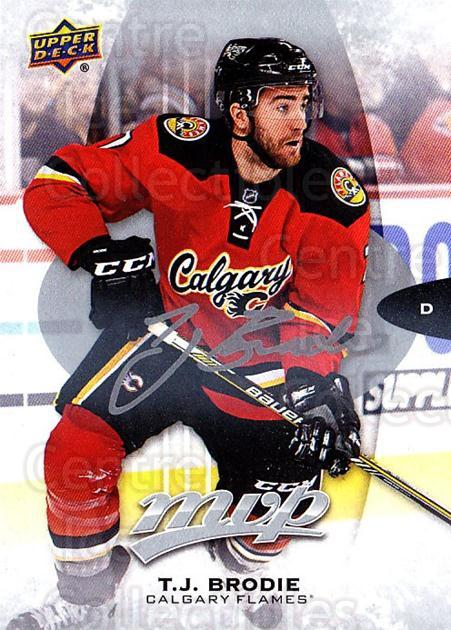 2016-17 Upper Deck MVP Silver Script #79 TJ Brodie<br/>3 In Stock - $2.00 each - <a href=https://centericecollectibles.foxycart.com/cart?name=2016-17%20Upper%20Deck%20MVP%20Silver%20Script%20%2379%20TJ%20Brodie...&quantity_max=3&price=$2.00&code=717361 class=foxycart> Buy it now! </a>