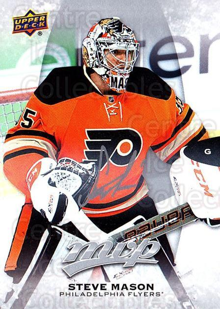 2016-17 Upper Deck MVP Silver Script #111 Steve Mason<br/>2 In Stock - $2.00 each - <a href=https://centericecollectibles.foxycart.com/cart?name=2016-17%20Upper%20Deck%20MVP%20Silver%20Script%20%23111%20Steve%20Mason...&quantity_max=2&price=$2.00&code=717369 class=foxycart> Buy it now! </a>