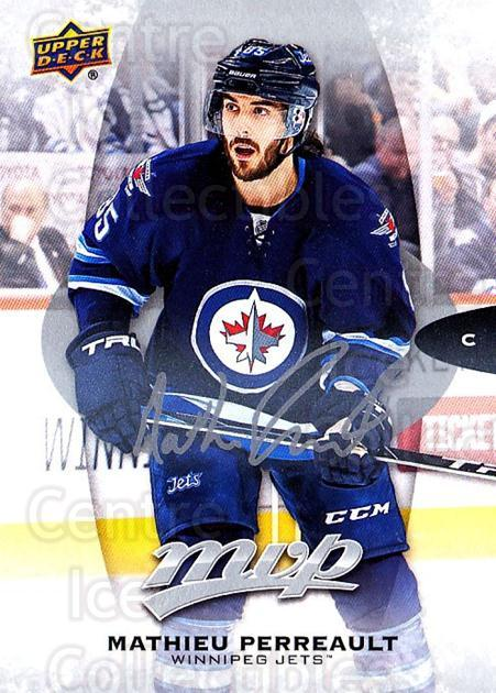 2016-17 Upper Deck MVP Silver Script #151 Mathieu Perreault<br/>1 In Stock - $2.00 each - <a href=https://centericecollectibles.foxycart.com/cart?name=2016-17%20Upper%20Deck%20MVP%20Silver%20Script%20%23151%20Mathieu%20Perreau...&quantity_max=1&price=$2.00&code=717377 class=foxycart> Buy it now! </a>