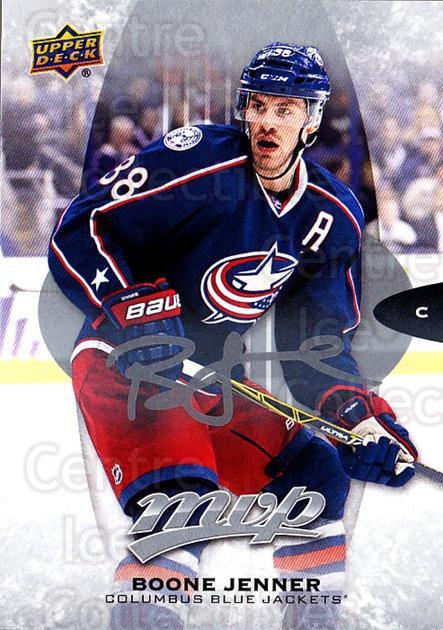 2016-17 Upper Deck MVP Silver Script #152 Boone Jenner<br/>1 In Stock - $2.00 each - <a href=https://centericecollectibles.foxycart.com/cart?name=2016-17%20Upper%20Deck%20MVP%20Silver%20Script%20%23152%20Boone%20Jenner...&quantity_max=1&price=$2.00&code=717378 class=foxycart> Buy it now! </a>