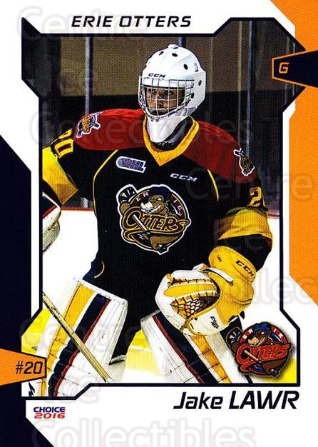 2015-16 Erie Otters #12 Jake Lawr<br/>1 In Stock - $3.00 each - <a href=https://centericecollectibles.foxycart.com/cart?name=2015-16%20Erie%20Otters%20%2312%20Jake%20Lawr...&quantity_max=1&price=$3.00&code=718036 class=foxycart> Buy it now! </a>
