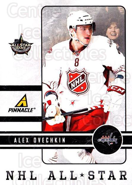 2012 Pinnacle NHL AS #4 Alex Ovechkin<br/>1 In Stock - $5.00 each - <a href=https://centericecollectibles.foxycart.com/cart?name=2012%20Pinnacle%20NHL%20AS%20%234%20Alex%20Ovechkin...&quantity_max=1&price=$5.00&code=718328 class=foxycart> Buy it now! </a>
