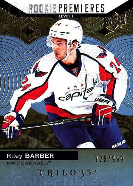 2017-18 UD Trilogy #62 Riley Barber<br/>1 In Stock - $5.00 each - <a href=https://centericecollectibles.foxycart.com/cart?name=2017-18%20UD%20Trilogy%20%2362%20Riley%20Barber...&quantity_max=1&price=$5.00&code=718408 class=foxycart> Buy it now! </a>