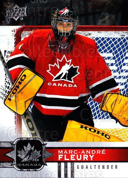 2017-18 Upper Deck Team Canada #30 Marc-Andre Fleury<br/>2 In Stock - $2.00 each - <a href=https://centericecollectibles.foxycart.com/cart?name=2017-18%20Upper%20Deck%20Team%20Canada%20%2330%20Marc-Andre%20Fleu...&quantity_max=2&price=$2.00&code=718526 class=foxycart> Buy it now! </a>