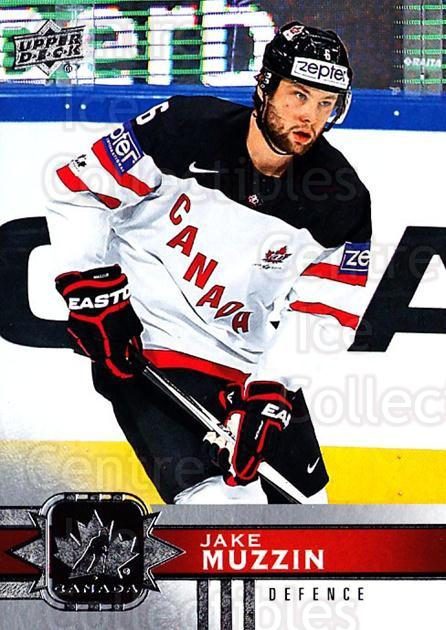 2017-18 Upper Deck Team Canada #43 Jake Muzzin<br/>4 In Stock - $1.00 each - <a href=https://centericecollectibles.foxycart.com/cart?name=2017-18%20Upper%20Deck%20Team%20Canada%20%2343%20Jake%20Muzzin...&quantity_max=4&price=$1.00&code=718539 class=foxycart> Buy it now! </a>
