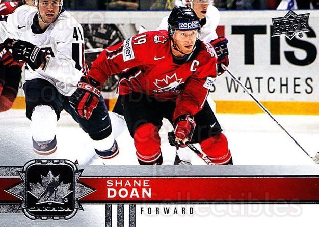 2017-18 Upper Deck Team Canada #58 Shane Doan<br/>6 In Stock - $1.00 each - <a href=https://centericecollectibles.foxycart.com/cart?name=2017-18%20Upper%20Deck%20Team%20Canada%20%2358%20Shane%20Doan...&quantity_max=6&price=$1.00&code=718554 class=foxycart> Buy it now! </a>
