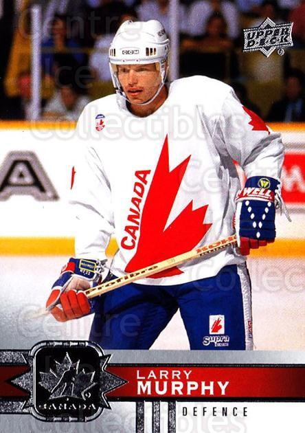 2017-18 Upper Deck Team Canada #77 Larry Murphy<br/>6 In Stock - $1.00 each - <a href=https://centericecollectibles.foxycart.com/cart?name=2017-18%20Upper%20Deck%20Team%20Canada%20%2377%20Larry%20Murphy...&quantity_max=6&price=$1.00&code=718573 class=foxycart> Buy it now! </a>
