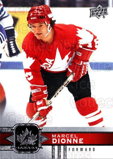 2017-18 Upper Deck Team Canada #80 Marcel Dionne<br/>6 In Stock - $1.00 each - <a href=https://centericecollectibles.foxycart.com/cart?name=2017-18%20Upper%20Deck%20Team%20Canada%20%2380%20Marcel%20Dionne...&quantity_max=6&price=$1.00&code=718576 class=foxycart> Buy it now! </a>
