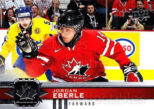 2017-18 Upper Deck Team Canada #105 Jordan Eberle<br/>6 In Stock - $3.00 each - <a href=https://centericecollectibles.foxycart.com/cart?name=2017-18%20Upper%20Deck%20Team%20Canada%20%23105%20Jordan%20Eberle...&quantity_max=6&price=$3.00&code=718601 class=foxycart> Buy it now! </a>