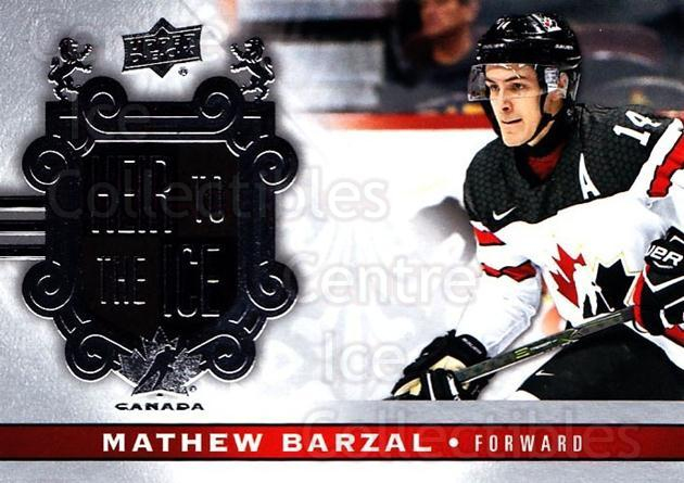 2017-18 Upper Deck Team Canada #148 Mathew Barzal<br/>2 In Stock - $5.00 each - <a href=https://centericecollectibles.foxycart.com/cart?name=2017-18%20Upper%20Deck%20Team%20Canada%20%23148%20Mathew%20Barzal...&quantity_max=2&price=$5.00&code=718644 class=foxycart> Buy it now! </a>