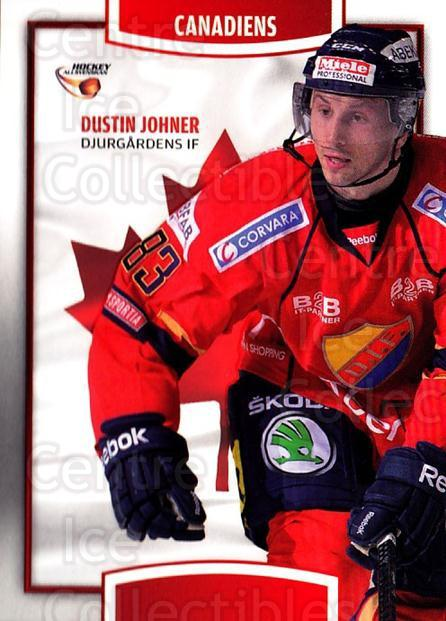 2013-14 Swedish Hockey Allsvenskan Canadiens #3 Dustin Johner<br/>2 In Stock - $3.00 each - <a href=https://centericecollectibles.foxycart.com/cart?name=2013-14%20Swedish%20Hockey%20Allsvenskan%20Canadiens%20%233%20Dustin%20Johner...&quantity_max=2&price=$3.00&code=718678 class=foxycart> Buy it now! </a>