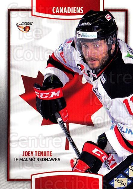 2013-14 Swedish Hockey Allsvenskan Canadiens #4 Joey Tenute<br/>1 In Stock - $3.00 each - <a href=https://centericecollectibles.foxycart.com/cart?name=2013-14%20Swedish%20Hockey%20Allsvenskan%20Canadiens%20%234%20Joey%20Tenute...&quantity_max=1&price=$3.00&code=718679 class=foxycart> Buy it now! </a>