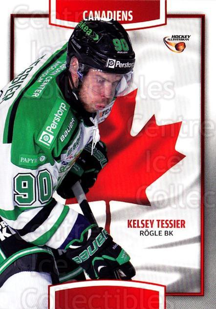 2013-14 Swedish Hockey Allsvenskan Canadiens #6 Kelsey Tessier<br/>5 In Stock - $3.00 each - <a href=https://centericecollectibles.foxycart.com/cart?name=2013-14%20Swedish%20Hockey%20Allsvenskan%20Canadiens%20%236%20Kelsey%20Tessier...&quantity_max=5&price=$3.00&code=718681 class=foxycart> Buy it now! </a>