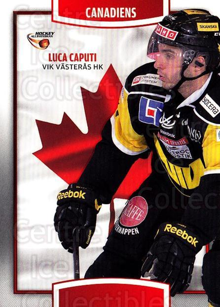 2013-14 Swedish Hockey Allsvenskan Canadiens #9 Luca Caputi<br/>3 In Stock - $3.00 each - <a href=https://centericecollectibles.foxycart.com/cart?name=2013-14%20Swedish%20Hockey%20Allsvenskan%20Canadiens%20%239%20Luca%20Caputi...&quantity_max=3&price=$3.00&code=718684 class=foxycart> Buy it now! </a>
