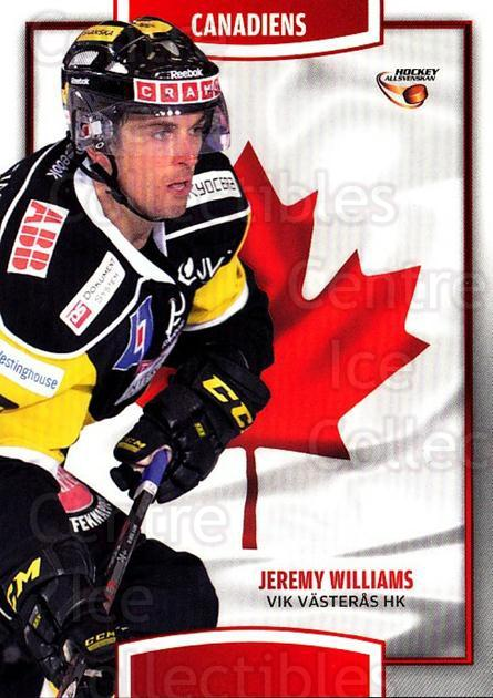 2013-14 Swedish Hockey Allsvenskan Canadiens #10 Jeremy Williams<br/>2 In Stock - $3.00 each - <a href=https://centericecollectibles.foxycart.com/cart?name=2013-14%20Swedish%20Hockey%20Allsvenskan%20Canadiens%20%2310%20Jeremy%20Williams...&quantity_max=2&price=$3.00&code=718685 class=foxycart> Buy it now! </a>