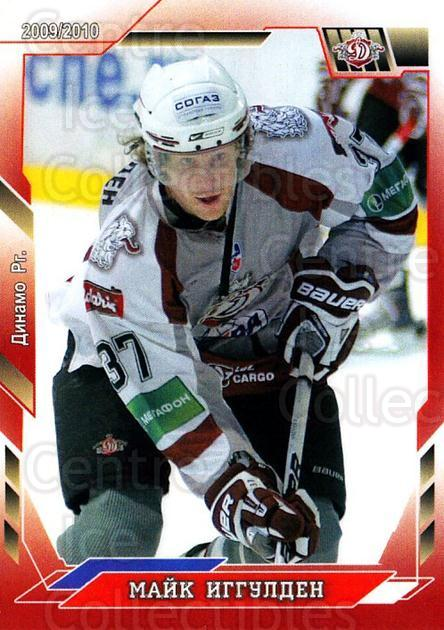 2009-10 Russian KHL Hot Ice #170 Mike Iggulden<br/>1 In Stock - $3.00 each - <a href=https://centericecollectibles.foxycart.com/cart?name=2009-10%20Russian%20KHL%20Hot%20Ice%20%23170%20Mike%20Iggulden...&quantity_max=1&price=$3.00&code=718893 class=foxycart> Buy it now! </a>