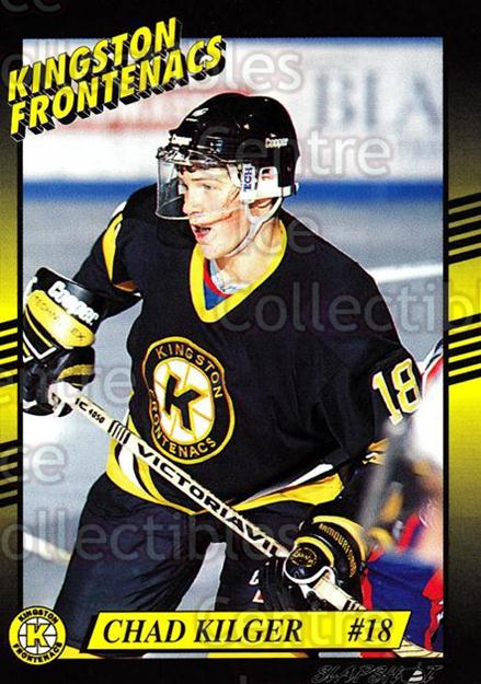 1993-94 Kingston Frontenacs #17 Chad Kilger<br/>3 In Stock - $3.00 each - <a href=https://centericecollectibles.foxycart.com/cart?name=1993-94%20Kingston%20Frontenacs%20%2317%20Chad%20Kilger...&price=$3.00&code=7191 class=foxycart> Buy it now! </a>