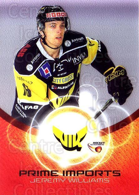 2014-15 Swedish Hockey Allsvenskan Prime Imports #13 Jeremy Willimas<br/>3 In Stock - $3.00 each - <a href=https://centericecollectibles.foxycart.com/cart?name=2014-15%20Swedish%20Hockey%20Allsvenskan%20Prime%20Imports%20%2313%20Jeremy%20Willimas...&quantity_max=3&price=$3.00&code=719432 class=foxycart> Buy it now! </a>