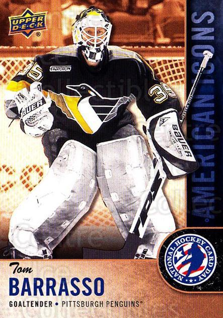 2018 Upper Deck National Hockey Card Day USA #11 Tom Barrasso<br/>11 In Stock - $2.00 each - <a href=https://centericecollectibles.foxycart.com/cart?name=2018%20Upper%20Deck%20National%20Hockey%20Card%20Day%20USA%20%2311%20Tom%20Barrasso...&price=$2.00&code=719672 class=foxycart> Buy it now! </a>