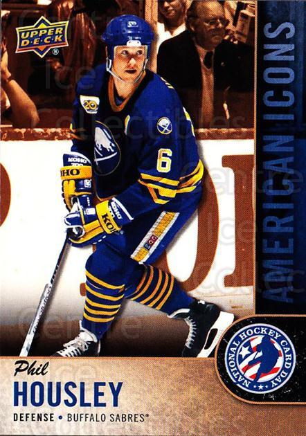 2018 Upper Deck National Hockey Card Day USA #12 Phil Housley<br/>11 In Stock - $2.00 each - <a href=https://centericecollectibles.foxycart.com/cart?name=2018%20Upper%20Deck%20National%20Hockey%20Card%20Day%20USA%20%2312%20Phil%20Housley...&quantity_max=11&price=$2.00&code=719673 class=foxycart> Buy it now! </a>