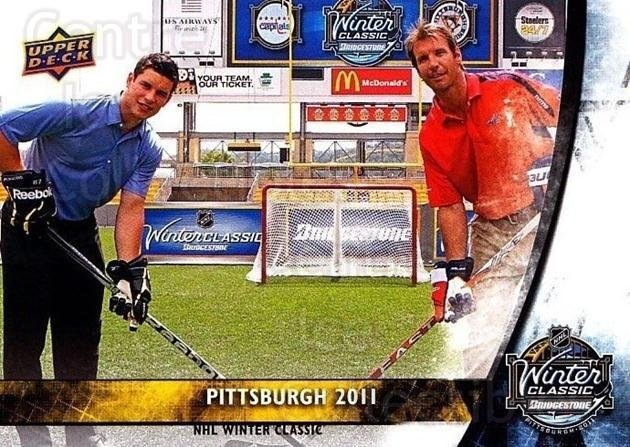 2011-12 Upper Deck Winter Classic #19 Sidney Crosby, Mike Knuble<br/>2 In Stock - $10.00 each - <a href=https://centericecollectibles.foxycart.com/cart?name=2011-12%20Upper%20Deck%20Winter%20Classic%20%2319%20Sidney%20Crosby,%20...&quantity_max=2&price=$10.00&code=719995 class=foxycart> Buy it now! </a>