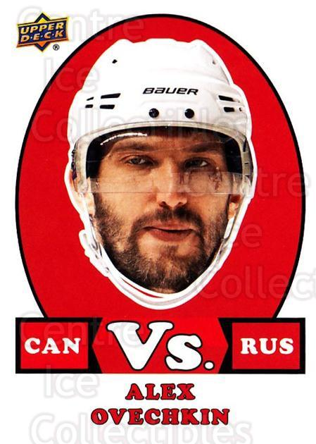 2017-18 Upper Deck Team Canada vs #2 Alexander Ovechkin<br/>1 In Stock - $5.00 each - <a href=https://centericecollectibles.foxycart.com/cart?name=2017-18%20Upper%20Deck%20Team%20Canada%20vs%20%232%20Alexander%20Ovech...&price=$5.00&code=719999 class=foxycart> Buy it now! </a>