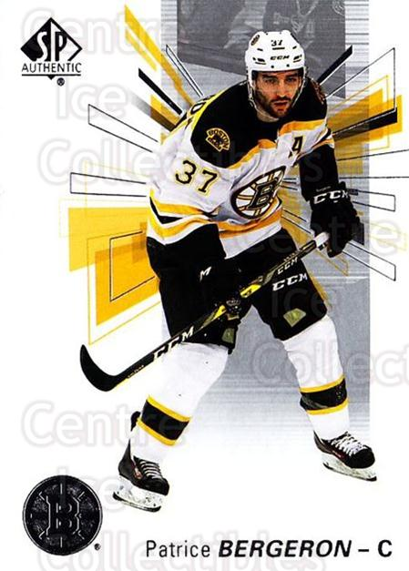 2016-17 Sp Authentic #79 Patrice Bergeron<br/>10 In Stock - $2.00 each - <a href=https://centericecollectibles.foxycart.com/cart?name=2016-17%20Sp%20Authentic%20%2379%20Patrice%20Bergero...&quantity_max=10&price=$2.00&code=720100 class=foxycart> Buy it now! </a>