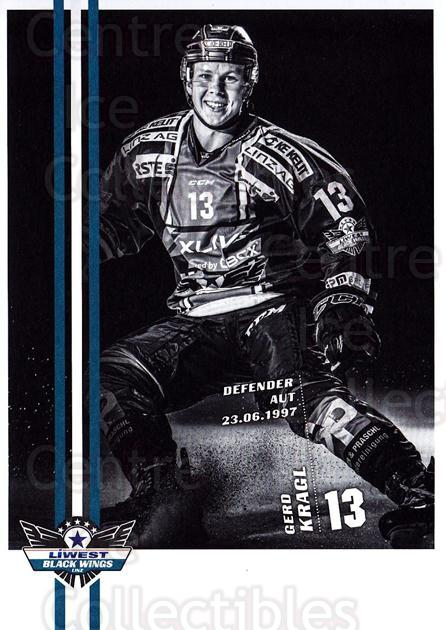 2017-18 EBEL EHC Liwest Black Wings Linz Postcards #9 Gerd Kragl<br/>1 In Stock - $3.00 each - <a href=https://centericecollectibles.foxycart.com/cart?name=2017-18%20EBEL%20EHC%20Liwest%20Black%20Wings%20Linz%20Postcards%20%239%20Gerd%20Kragl...&quantity_max=1&price=$3.00&code=720254 class=foxycart> Buy it now! </a>