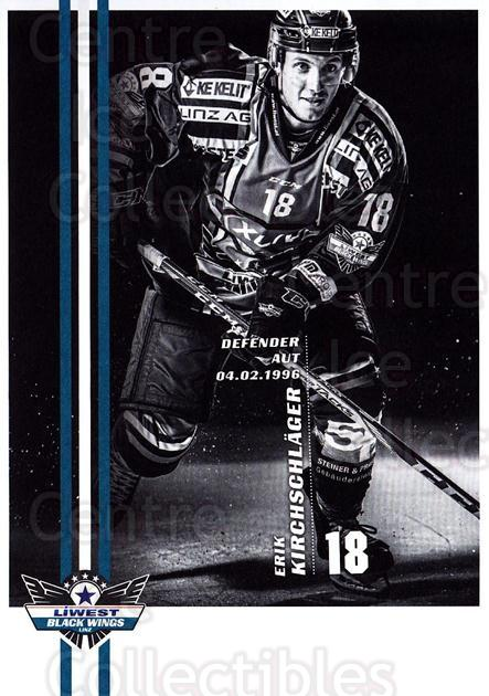 2017-18 EBEL EHC Liwest Black Wings Linz Postcards #10 Erik Kirchschlager<br/>1 In Stock - $3.00 each - <a href=https://centericecollectibles.foxycart.com/cart?name=2017-18%20EBEL%20EHC%20Liwest%20Black%20Wings%20Linz%20Postcards%20%2310%20Erik%20Kirchschla...&quantity_max=1&price=$3.00&code=720255 class=foxycart> Buy it now! </a>