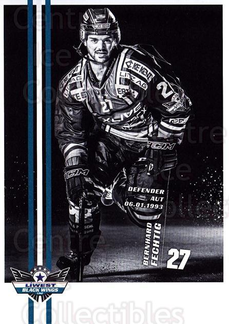 2017-18 EBEL EHC Liwest Black Wings Linz Postcards #11 Bernhard Fechtig<br/>1 In Stock - $3.00 each - <a href=https://centericecollectibles.foxycart.com/cart?name=2017-18%20EBEL%20EHC%20Liwest%20Black%20Wings%20Linz%20Postcards%20%2311%20Bernhard%20Fechti...&quantity_max=1&price=$3.00&code=720256 class=foxycart> Buy it now! </a>