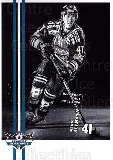 2017-18 EBEL EHC Liwest Black Wings Linz Postcards #12 Mario Altmann<br/>1 In Stock - $3.00 each - <a href=https://centericecollectibles.foxycart.com/cart?name=2017-18%20EBEL%20EHC%20Liwest%20Black%20Wings%20Linz%20Postcards%20%2312%20Mario%20Altmann...&quantity_max=1&price=$3.00&code=720257 class=foxycart> Buy it now! </a>