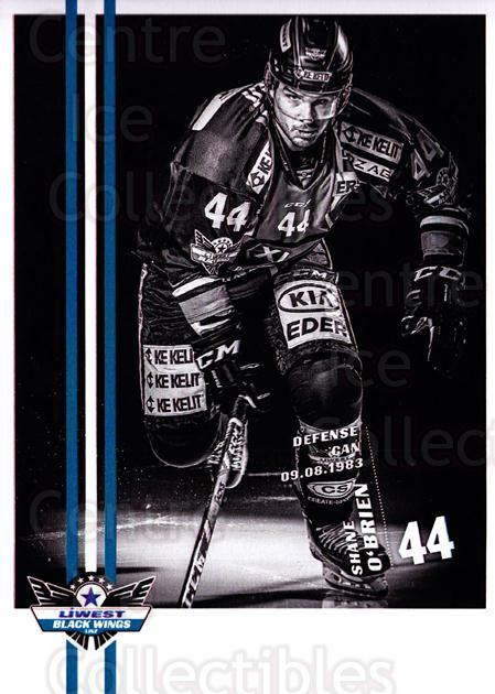 2017-18 EBEL EHC Liwest Black Wings Linz Postcards #13 Shane O'brien<br/>1 In Stock - $3.00 each - <a href=https://centericecollectibles.foxycart.com/cart?name=2017-18%20EBEL%20EHC%20Liwest%20Black%20Wings%20Linz%20Postcards%20%2313%20Shane%20O'brien...&quantity_max=1&price=$3.00&code=720258 class=foxycart> Buy it now! </a>