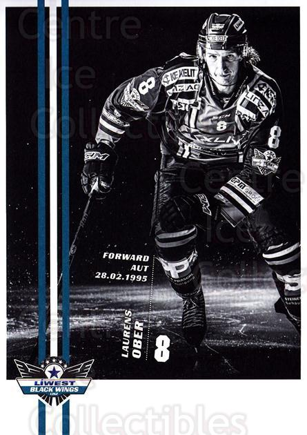 2017-18 EBEL EHC Liwest Black Wings Linz Postcards #17 Laurens Ober<br/>1 In Stock - $3.00 each - <a href=https://centericecollectibles.foxycart.com/cart?name=2017-18%20EBEL%20EHC%20Liwest%20Black%20Wings%20Linz%20Postcards%20%2317%20Laurens%20Ober...&quantity_max=1&price=$3.00&code=720262 class=foxycart> Buy it now! </a>