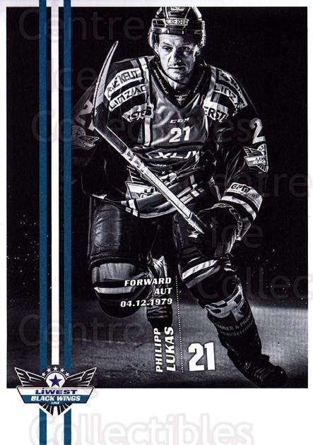 2017-18 EBEL EHC Liwest Black Wings Linz Postcards #22 Philipp Lukas<br/>1 In Stock - $3.00 each - <a href=https://centericecollectibles.foxycart.com/cart?name=2017-18%20EBEL%20EHC%20Liwest%20Black%20Wings%20Linz%20Postcards%20%2322%20Philipp%20Lukas...&quantity_max=1&price=$3.00&code=720267 class=foxycart> Buy it now! </a>
