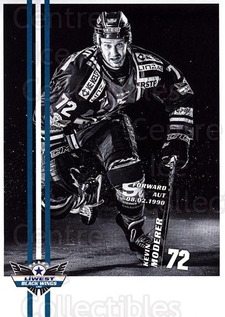 2017-18 EBEL EHC Liwest Black Wings Linz Postcards #28 Kevin Moderer<br/>1 In Stock - $3.00 each - <a href=https://centericecollectibles.foxycart.com/cart?name=2017-18%20EBEL%20EHC%20Liwest%20Black%20Wings%20Linz%20Postcards%20%2328%20Kevin%20Moderer...&quantity_max=1&price=$3.00&code=720273 class=foxycart> Buy it now! </a>