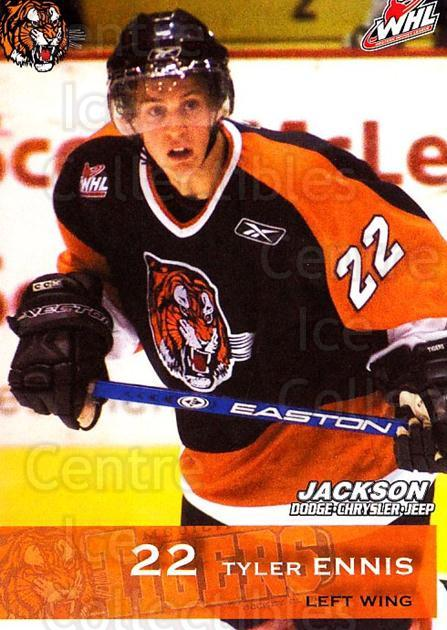 2006-07 Medicine Hat Tigers #6 Tyler Ennis<br/>1 In Stock - $3.00 each - <a href=https://centericecollectibles.foxycart.com/cart?name=2006-07%20Medicine%20Hat%20Tigers%20%236%20Tyler%20Ennis...&quantity_max=1&price=$3.00&code=720345 class=foxycart> Buy it now! </a>