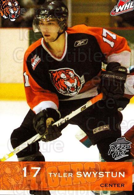 2006-07 Medicine Hat Tigers #21 Tyler Swystun<br/>1 In Stock - $3.00 each - <a href=https://centericecollectibles.foxycart.com/cart?name=2006-07%20Medicine%20Hat%20Tigers%20%2321%20Tyler%20Swystun...&quantity_max=1&price=$3.00&code=720350 class=foxycart> Buy it now! </a>