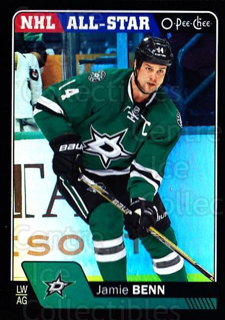 2016-17 O-Pee-Chee Rainbow Black #55 Jamie Benn<br/>1 In Stock - $5.00 each - <a href=https://centericecollectibles.foxycart.com/cart?name=2016-17%20O-Pee-Chee%20Rainbow%20Black%20%2355%20Jamie%20Benn...&quantity_max=1&price=$5.00&code=720405 class=foxycart> Buy it now! </a>